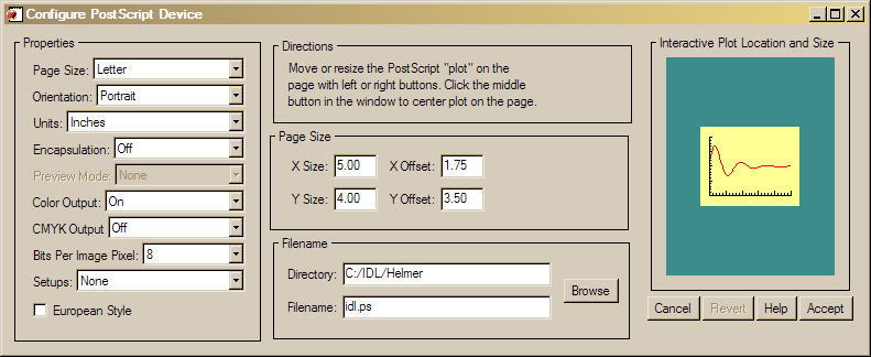The FSC_PSConfig GUI.
